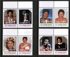 "ST.VINCENT  Scott # 894-7** VF MINT NH PAIRS ""SPECIMEN"" (Stamp Scan # 505) - St.Vincent (1979-...)"