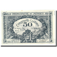 Billet, Monaco, 50 Centimes, 1920, 1920-03-20, KM:3a, SPL+ - Mónaco