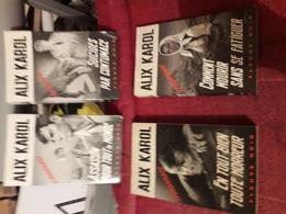 Lot De 4 Alix Karol Au Fleuve Noir N°1107-1093-1082-1197 - Lots De Plusieurs Livres
