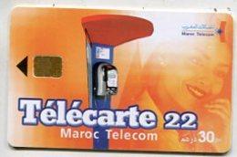TK 07220 MOROCCO - Chip - Morocco