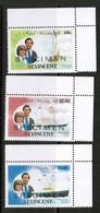 """ST.VINCENT  Scott # 627,629,631** VF MINT NH """"SPECIMEN"""" (Stamp Scan # 505) - St.Vincent (1979-...)"""