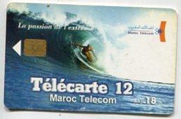 TK 07222 MOROCCO - Chip - Morocco