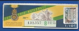 Billets De  Loterie    Médaille Militaire    Année 1954 - Billets De Loterie