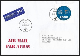 2000 - ALAND - Cover - Y&T 166 + GODBY - Aland