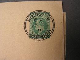 Kingston Wrapper 1910 - Jamaica (...-1961)