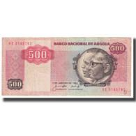Billet, Angola, 500 Kwanzas, 1984, 1984-01-07, KM:120A, TTB - Angola
