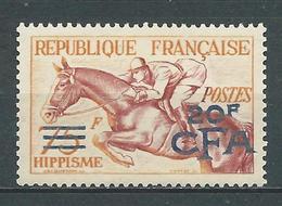 RÉUNION 1953/54 . N° 318 . Neuf * (MH) - Réunion (1852-1975)
