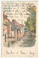 39 - DOLE - Canal Des Tanneurs - Chromolit. Courbe Rouzet - 1901 - Dole