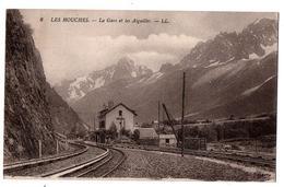LES HOUCHES LA GARE ET LES AIGUILLES - Les Houches