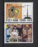 """Viet-Sud YT 353 & 354 """" Démocratie """" 1969 Neuf** MNH - Viêt-Nam"""