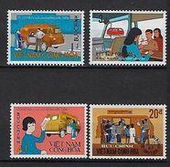 """Viet-Sud YT 355 à 358 """" Bureau Poste Ambulant """" 1969 Neuf** MNH - Viêt-Nam"""