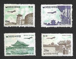 COR002 - 1962/63 - COREA DEL SUD SERIE CORRENTE CATALOGO YVERT 26A/29A - NUOVA! GOMMA INTEGRA PERFETTA ** - Corea Del Sud