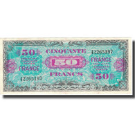France, 50 Francs, 1945 Verso France, 1945, 1945, SUP, Fayette:VF 24.1, KM:122a - Treasury