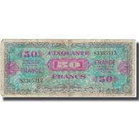 France, 50 Francs, 1945 Verso France, 1945, 1945, B+, Fayette:VF 24.1, KM:122a - Treasury
