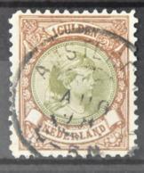 Q 258 ++ NETHERLANDS  1893  NVPH NR. 46 GESTEMPELD USED GEBRAUCHT - Nederland