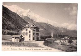 CHAMONIX  GARE DU MONTENVERS - Chamonix-Mont-Blanc