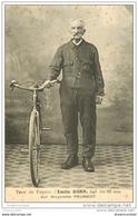 Sports Cyclisme Et Vélo. 25 Audincourt. EMILE KORN 80 Ans. Tour De France Sur Bicyclette Peugeot - Cycling