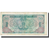 Billet, South Viet Nam, 50 D<ox>ng, KM:25a, TB - Viêt-Nam