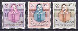 Sudan 1961 ( 50 Years Of Girls' Education In The Sudan ) - Complete Set - MNH (**) - Sudan (1954-...)