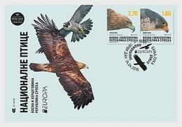 Bosnië & Herzegovina / Bosnia - Postfris/MNH - FDC Europa, Vogels 2019 - Bosnië En Herzegovina