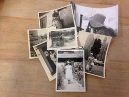 FRAUEN MIT HUETEN - SONNTAGSKLEID - FRAUENMODE DAZUMAL -  1940-70 - 4 - Anonymous Persons