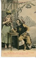 1260. CPA COLORISEE. IDYLLE LOUIS XIII 1906 TAXEE - Otros
