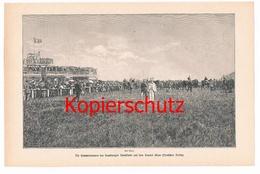 542 Sommerrennen Hamburg Rennklub Deutsches Derby Druck 1897 !!! - Unclassified