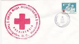 Honduras / Denmark, FDC 3-12-1980, Red Cross, Honduras Stamp - Honduras