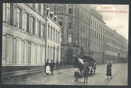 +++ CPA - NAMUR - Etablissement Des Jésuites - Attelage - Carte Animée  // - Namur