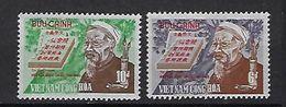 "Viet-Sud YT 385 & 386 "" Poète "" 1970 Neuf** MNH - Viêt-Nam"
