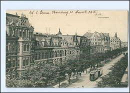 Y12335/ Lehe  Bremerhaven Straßenbahn Hafenstraße AK 1912 - Germany