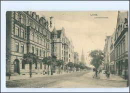 Y12334/ Lehe  Bremerhaven Hafenstraße AK 1912 - Deutschland