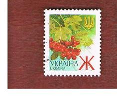 UCRAINA (UKRAINE)  -  MI 436AII   -  2003  PLANTS: GUELDER-ROSE   -   USED - Ucraina