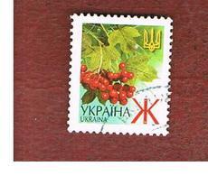 UCRAINA (UKRAINE)  -  MI 436AIV   -  2005  PLANTS: GUELDER-ROSE   -   USED - Ucraina