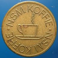 KB320-1 - NSM KOFFIE - De Gruijter - Den Bosch - B 20.0mm - Koffie Machine Penning - Coffee Machine Token - Professionals/Firms