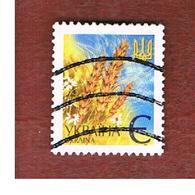 UCRAINA (UKRAINE)  -  MI 437AII   -  2003  WHEAT EARS -   USED - Ucraina