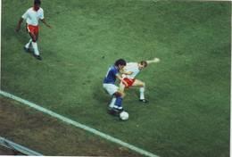 Foto Originale Roberto Baggio In Azzurro - 1990 - Sport