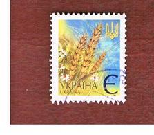 UCRAINA (UKRAINE)  -  MI 437AIV   -  2005  WHEAT EARS -   USED - Ucraina