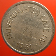 KB323-1 - NIJVERDAL-TEN CATE 1961 - Almelo - WM 22.5mm - Koffie Machine Penning - Coffee Machine Token - Professionals/Firms