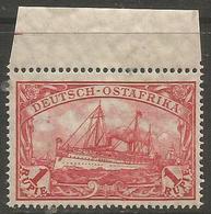 German East Africa - 1915 Kaiser's Yacht 1r MNH **   Sc 39 - Colony: German East Africa