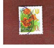 UCRAINA (UKRAINE)  -  MI 508AI   -  2002  FLOWERS: MARIGOLDS   -   USED - Ucraina