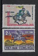 "Viet-Sud YT 397 & 398 "" Postillon Autrefois "" 1971 Neuf** MNH - Viêt-Nam"