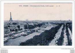 C.P.A  DE  PARIS  ---  PANORAME  DE  PARIS  ( COTE  OUEST  )..  . - Paris (13)