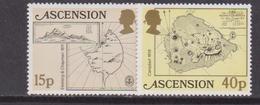 Ascension Is. - Maps Set MNH - Geografia
