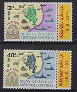 """Viet-Sud YT 399 & 400 """" Journée Des Forces Armées """" 1971 Neuf** MNH - Vietnam"""