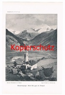 553 Maria Rein Rieserferner Hochgall Gebirge Druck 1900 !!! - Unclassified