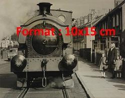 """Reproduction D'une Photographie Ancienne Du Train """"invincible"""" Du Royal Aircraft Etablishment à Farnborough En 1967 - Reproductions"""