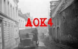 1940 ANTOING Hainaut Ruines Wehrmacht Vormarsch XXVII Armeekorps Opel Blitz Camion Occupation Allemande - Oorlog, Militair