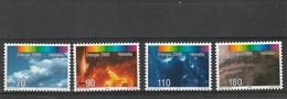 "Suisse Neuf **  1997  N° 1547/1550   Programme D'actions ""Energie 2000) - Neufs"