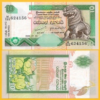 Sri Lanka 10 Rupees P-115d 2006 UNC - Sri Lanka